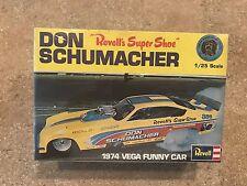 REVELL NHRA DON SCHUMACHER 1974 VEGA FUNNY CAR 1/25 MODEL CAR Sealed
