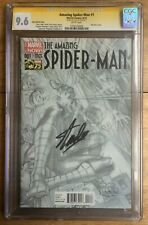 Amazing Spider-Man #1 1:300 Alex Ross Sketch Variant CGC SS 9.6 Signed Stan Lee