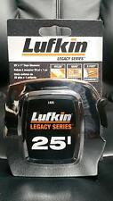 LUFKIN L925 TAPE MEASURE 25' LEGACY SERIES NEW CHROME 25 FOOT