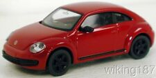 Wiking NEW HO 1/87 Scale Current Generation VW Volkswagen Bug Beetle in Red