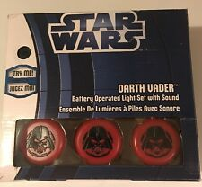Star Wars Darth Vader Red Battery Operated Light Set With Sound