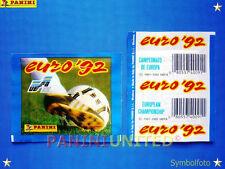 Panini★EURO 1992 EM 92★ Tüte/packet/bustine, original, ungeöffnet - RARITÄT !!!