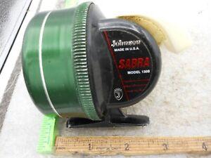 Johnson Sabra Model 130B Closed Face SPINCASTING FISHING REEL  Made In USA