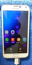 Samsung  Galaxy S5 SM-G900F - 16GB - shimmerie withe Smartphone