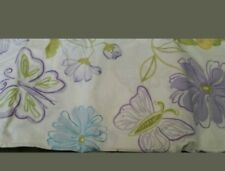New Pottery Barn Kids Marissa BUTTERFLY Twin DUVET + SHAM floral purple Pretty