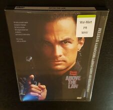 Above The Law (DVD, 1998) Steven Seagal 1988 action movie Andrew Davis film NEW