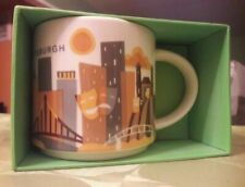 Starbucks Coffee 2013 You Are Here Collection Pittsburgh Mug 14 Oz