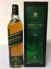 Johnnie Walker  Green Label 15yo Blended Malt Scotch Whisky 70cl 43% Vol