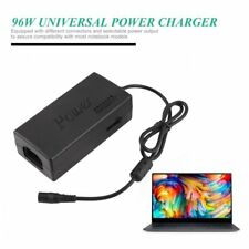 96W Universal Power Charger Adapter AC 110V/240V For Laptop/Notebook EU Plug XC