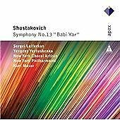 "Dmitri Shostakovich: Symphony No. 13 ""Babi Yar"" (2012) New & Sealed"