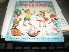 Vintage Happpy Holidays And Other Fun Days Around The Year Hardcover Book