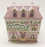 1993 LENOX Village Nut Shoppe Canister With Lid
