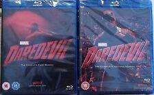 Daredevil Season 1-2 Blu-Ray Set 1 2 Region Free New Netflix Marvel.