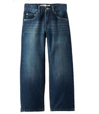 NWT Levi's Boys' 505 Regular Fit Jeans Denim Size 8 $40