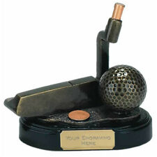 10 cm Triumph Putter Trophy FREE Engraving up to 30 Letters