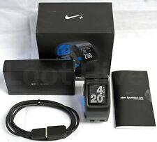 NEW Nike+ Plus GPS Sport Watch Blue/Anthracite TomTom Fitness Runner Tracker