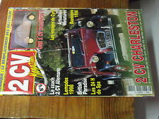 7µ?§ Revue 2CV Magazine n°6 Silentbloc 2CV Charleston 2CV Chapron Allemano