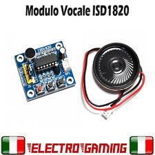 Modulo vocale con ISD1820 vocale voice module per arduino registratore - AE31