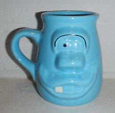 Blue Ghost Monster Boo Berry Cartoon Character 3D Shaped Coffee Mug Cup