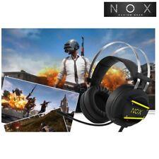 NOX NX-3 Virtual 7.1 Channel Gaming Headset 0.61lb 280g Battlegrounds vibration