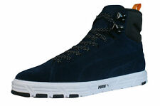 Herren-High-Top Sneaker Suede