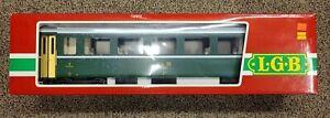 LGB 3167 Passenger coach Green lite, Super Nice with box Nice