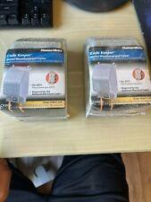 (2)! Thomas Betts Ckmg Ckmgv Red Dot Code Keeper Metal Weatherproof Covers