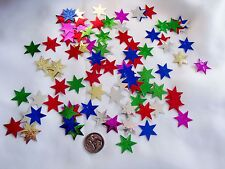 Wedding Table Scatters Confetti Stars - Embossed Multi BUY 1 GET 1 FREE