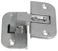 Hafele Inset Soft Close Hinges Automatic Closing Nickel Steel Pack of 20