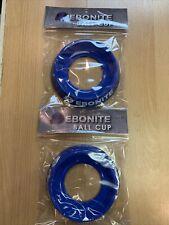 Ebonite Bowling Ball Cup Blue w free shipping ! 2 Pack  $10.99