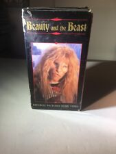 Beauty and the Beast Gift Set VHS Ron Perlman, Roy Dotrice, Linda Hamilton