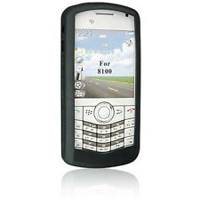 BlackBerry Rubberized Skin for 81xx Series Pearl (Pitch Black)
