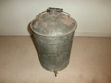 ANTIQUE  METAL GAS  OIL CAN HARRISBURG PA MARSHALL WHITCOMB SERVICE STATION