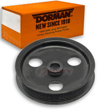 Dorman Power Steering Pump Pulley for Jeep Wrangler 1999-2006 4.0L L6 2.5L xo