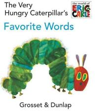 THE VERY HUNGRY CATERPILLAR'S FAVORITE WORDS - CARLE, ERIC - NEW HARDCOVER BOOK