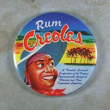 "Vintage Style Advertising Label Photo Fridge Magnet 2 1/4""  Rum Creoles Bonbon"