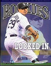 JULY 2014 VOL 22 #5 COLORADO ROCKIES PROGRAM MAGAZINE Jorge De La Rosa Cover NM+