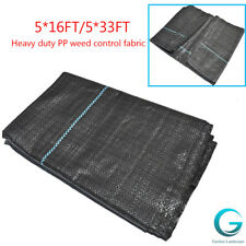 5Ft Wide Weed Barrier Garden Landscape Fabric Ground Greenhouse Weed Control Us