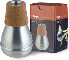 Stagg MTR-P3A Aluminium Compact Practise Trumpet Mute