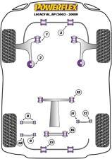 KBR18-22 Whiteline Arrière Sway Bar Mount pour SUBARU FORESTER Inc Turbo 1997-2008