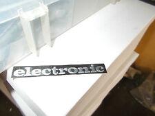 "ADHESIVO "" ELECTRONIC "" PARA CICLOMOTOR PIAGGIO SI"