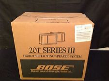 Vintage Bose 201 Series III Direct Reflecting System (NIB)
