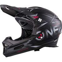 O'Neal Fury Full Face Mountain Bike MTB DH Downhill Helmet Fullface Black Small