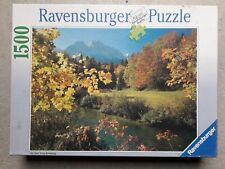 Puzzle 1500 pièces Ravensburger Alpes bavaroises - complet - tres bon état