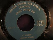 US Air Force Music In The Air  Mort LIndsey & Barbara Russell 45