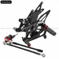 Racing Rearset Footrest Foot Peg Pedal For Honda CBR600RR ABS 2009-2017