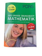 Mathematik Übungsbuch Pons 5.-10. Klasse