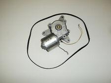 12 volt Bosch Code 3 Light Bar motor + drive belt vintage used working parts