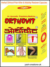 REPL Orthovit Muscle Pain Relief Herbal Capsules for All body parts-(Unisex)