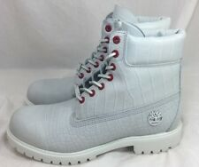 Timberland 6 Inch White Serpent Limited Release Waterproof Boot A1P9Q100 Size 10